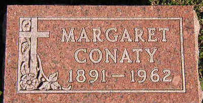CONATY, MARGARET - Black Hawk County, Iowa | MARGARET CONATY