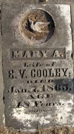 COOLEY, MARY A. - Black Hawk County, Iowa | MARY A. COOLEY