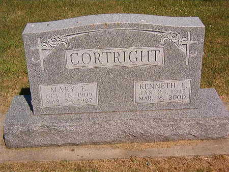 CORTRIGHT, KENNETH E. - Black Hawk County, Iowa | KENNETH E. CORTRIGHT