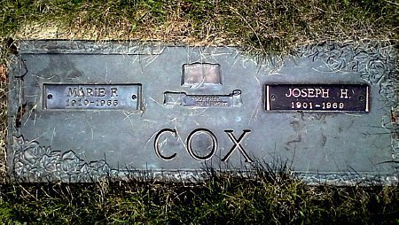 COX, MARIE E. - Black Hawk County, Iowa | MARIE E. COX