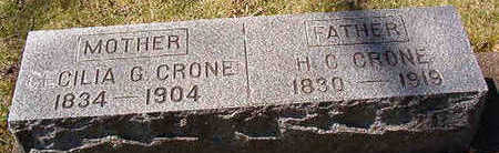 CRONE, CILIA - Black Hawk County, Iowa | CILIA CRONE