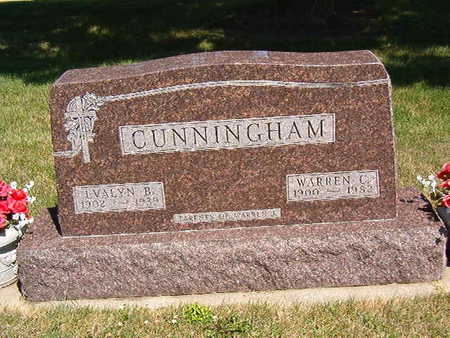 CUNNINGHAM, EVALYN B. - Black Hawk County, Iowa | EVALYN B. CUNNINGHAM