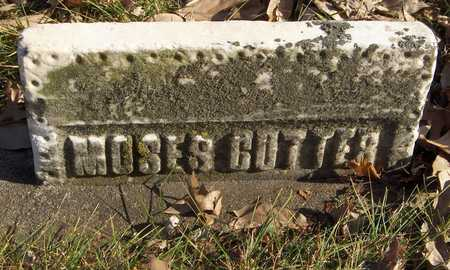 CUTTER, MOSES - Black Hawk County, Iowa | MOSES CUTTER