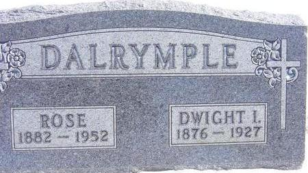 DALRYMPLE, DWIGHT - Black Hawk County, Iowa | DWIGHT DALRYMPLE
