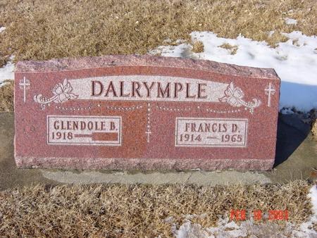 DALRYMPLE, FRANCIS DALE - Black Hawk County, Iowa | FRANCIS DALE DALRYMPLE