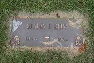 DEISS, GLADYS L. - Black Hawk County, Iowa | GLADYS L. DEISS