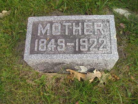 DIXON, MOTHER - Black Hawk County, Iowa | MOTHER DIXON