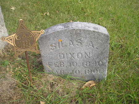 DIXON, SILAS A - Black Hawk County, Iowa | SILAS A DIXON