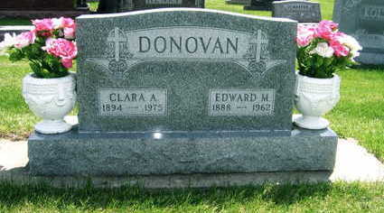 DONOVAN, EDWARD M. - Black Hawk County, Iowa | EDWARD M. DONOVAN
