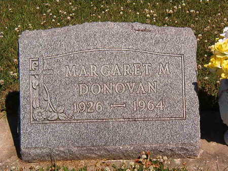 DONOVAN, MARGARET M. - Black Hawk County, Iowa | MARGARET M. DONOVAN