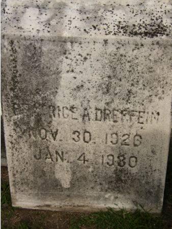 DREFFEIN, BEATRICE A. - Black Hawk County, Iowa   BEATRICE A. DREFFEIN