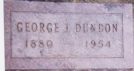 DUNDON, GEORGE J. - Black Hawk County, Iowa | GEORGE J. DUNDON