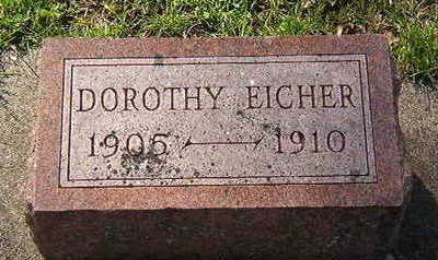 EICHER, DOROTHY - Black Hawk County, Iowa | DOROTHY EICHER