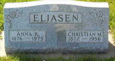 ELIASEN, CHRISTIAN M. - Black Hawk County, Iowa | CHRISTIAN M. ELIASEN