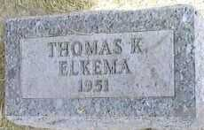 ELKEMA, THOMAS K. - Black Hawk County, Iowa | THOMAS K. ELKEMA