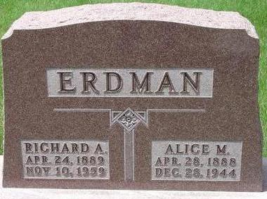 ERDMAN, RICHARD - Black Hawk County, Iowa | RICHARD ERDMAN