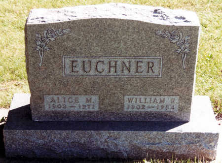 EUCHNER, WILLIAM R. - Black Hawk County, Iowa | WILLIAM R. EUCHNER