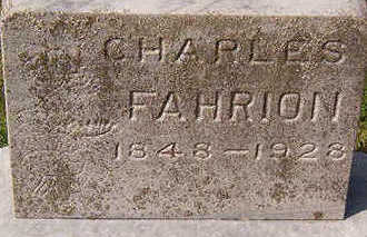 FAHRION, CHARLES - Black Hawk County, Iowa | CHARLES FAHRION
