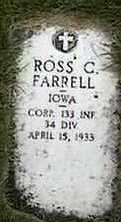 FARRELL, ROSS C. - Black Hawk County, Iowa | ROSS C. FARRELL