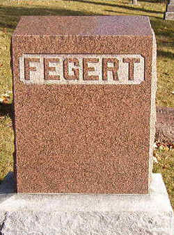 FEGERT, FAMILY STONE - Black Hawk County, Iowa | FAMILY STONE FEGERT