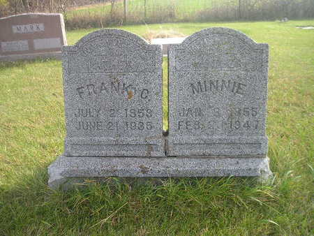 FEIST, MINNIE - Black Hawk County, Iowa | MINNIE FEIST