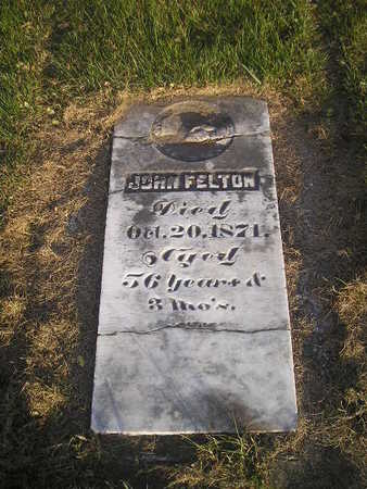 FELTON, JOHN - Black Hawk County, Iowa | JOHN FELTON