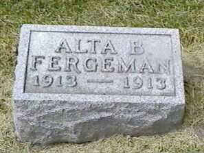 FERGEMAN, ALTA B. - Black Hawk County, Iowa | ALTA B. FERGEMAN