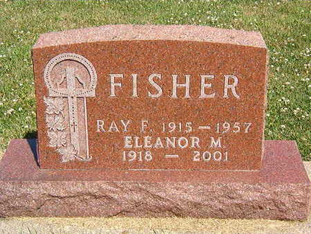 FISHER, RAY F. - Black Hawk County, Iowa | RAY F. FISHER