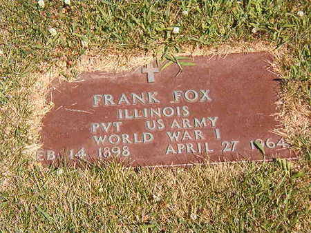 FOX, FRANK - Black Hawk County, Iowa | FRANK FOX