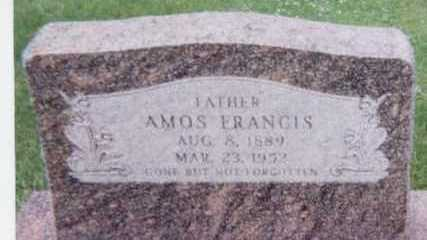 FRANCIS, AMOS - Black Hawk County, Iowa | AMOS FRANCIS