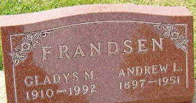 FRANDSEN, GLADYS M. - Black Hawk County, Iowa | GLADYS M. FRANDSEN