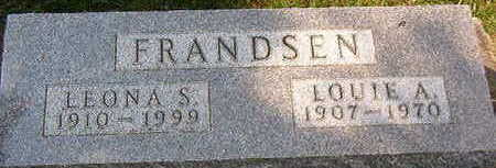 FRANDSEN, LOUIE A. - Black Hawk County, Iowa | LOUIE A. FRANDSEN