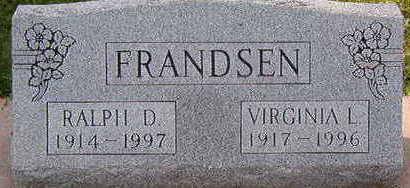 FRANDSEN, VIRGINIA L. - Black Hawk County, Iowa | VIRGINIA L. FRANDSEN