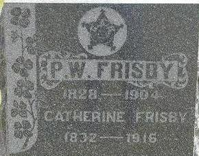 FRISBY, P.W. - Black Hawk County, Iowa | P.W. FRISBY