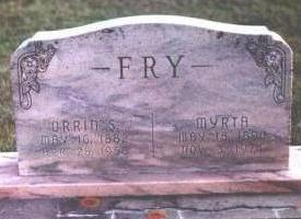 FRY, MYRTA - Black Hawk County, Iowa | MYRTA FRY