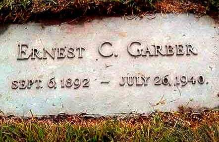 GARBER, ERNEST C. - Black Hawk County, Iowa | ERNEST C. GARBER