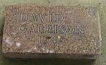 GARISON, DAVID L. - Black Hawk County, Iowa | DAVID L. GARISON
