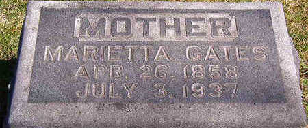 GATES, MARIETTA - Black Hawk County, Iowa | MARIETTA GATES