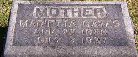 GATES, MARIETTA - Black Hawk County, Iowa | MARIETTA GATES
