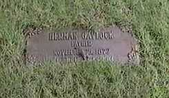 GAVLOCK, HERMAN - Black Hawk County, Iowa | HERMAN GAVLOCK