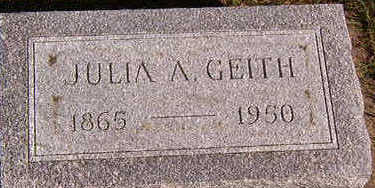 GEITH, JULIA A. - Black Hawk County, Iowa | JULIA A. GEITH
