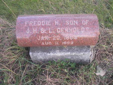 GERHOLDT, FREDDIE H - Black Hawk County, Iowa | FREDDIE H GERHOLDT