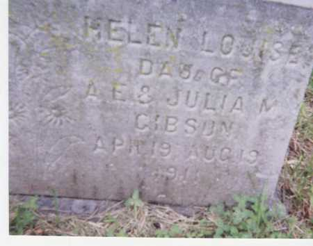 GIBSON, HELEN LOUISE - Black Hawk County, Iowa | HELEN LOUISE GIBSON