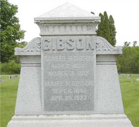 WHAYLEN GIBSON, MARY FRANCES - Black Hawk County, Iowa | MARY FRANCES WHAYLEN GIBSON