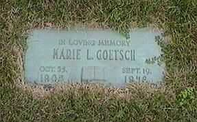 GOETSCH, MARIE L. - Black Hawk County, Iowa | MARIE L. GOETSCH