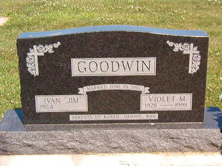 GOODWIN, VIOLET M. - Black Hawk County, Iowa | VIOLET M. GOODWIN