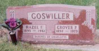 GOSWILLER, GROVER P. - Black Hawk County, Iowa | GROVER P. GOSWILLER