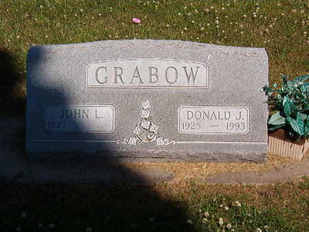 GRABOW, JOHN L. - Black Hawk County, Iowa | JOHN L. GRABOW