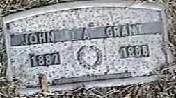 GRANT, JOHN A. - Black Hawk County, Iowa   JOHN A. GRANT