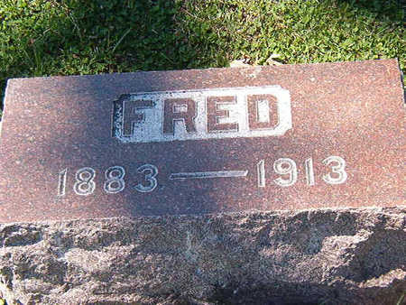 GRATTAN, FRED - Black Hawk County, Iowa | FRED GRATTAN